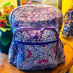 vera bradley Bag pack and lunch 💼